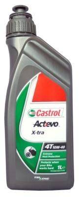 Масло Castrol ACT EVO X-TRA 4T 10W-40