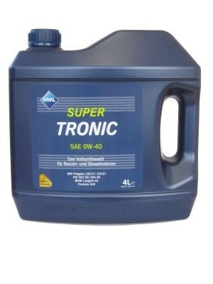 Масло Aral Supertronic SAE 0W-40