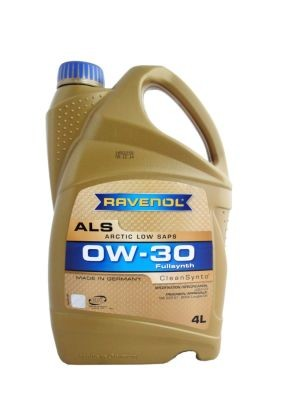Масло моторное Ravenol Arctic Low