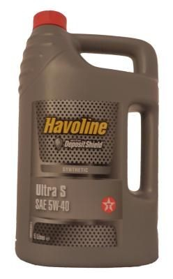 Масло моторное Texaco Havoline Ultra S 5W-40