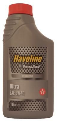Масло моторное Texaco Havoline Ultra 5W-40