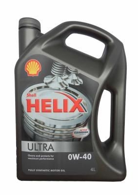 Масло Shell Helix Ultra 0W-40