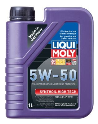 Масло моторное Liqui Moly Synthoil High Tech 5W-50