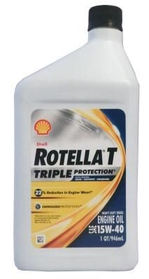 Масло Shell Rotella T Triple Protection 15W-40