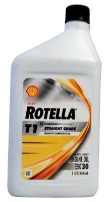 Масло Shell Rotella T1 30