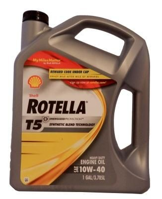 Масло Shell Rotella T5 10W-40