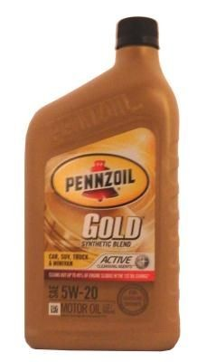 Масло Pennzoil Gold SAE 5W-20 Synthetic Blend