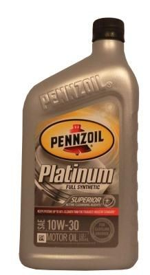 Масло Pennzoil Platinum SAE 10W-30 Full Synthetic