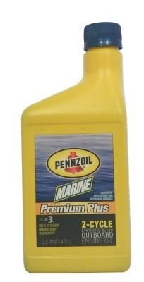Масло моторное Pennzoil Marine Premium Plus Outboard 2-Cycle
