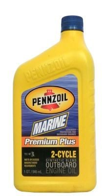 Масло Pennzoil Marine Premium Plus Outboard 2-Cycle
