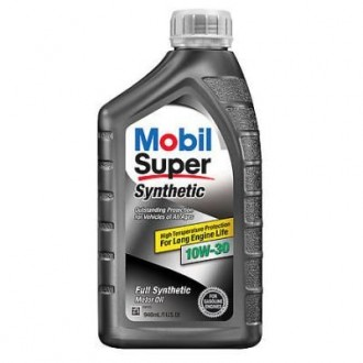 Масло Mobil Super Synthetic 10W-30