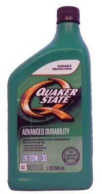 Масло моторное Quaker State Advanced Durability SAE 10W-30 Motor Oil