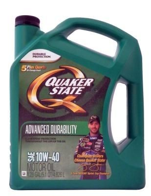 Масло моторное Quaker State Advanced Durability Motor Oil SAE 10W-40
