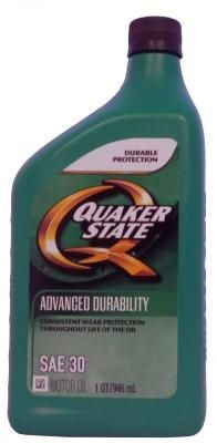 Масло Quaker State Advanced Durability SAE 30 Motor Oil
