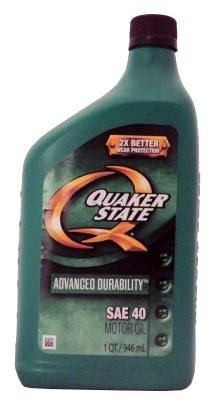 Масло моторное Quaker State Advanced Durability L SAE 40 Motor Oil