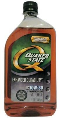 Масло Quaker State Enhanced Durability SAE 10W-30 SyntheticBlend Motor Oil