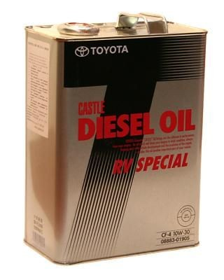 Масло Toyota Diesel oil RV Special
