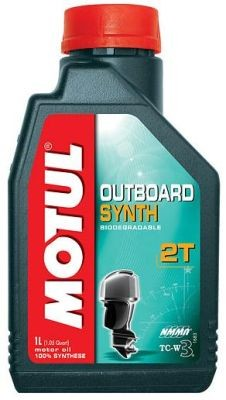 Масло Motul Outboard Synth 2T