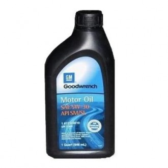 General Motors AC Delco Motor Oil 5W-30