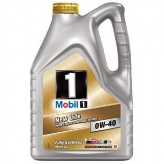 Масло Mobil 1 New Life SAE 0W-40