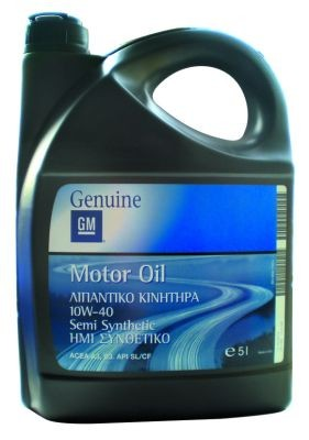 General Motors Motor Oil Semi Synthetic