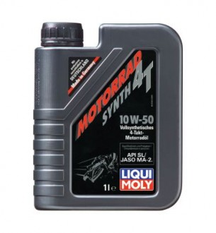 Масло Liqui Moly Motorrad Synth 4T SAE 10W-50