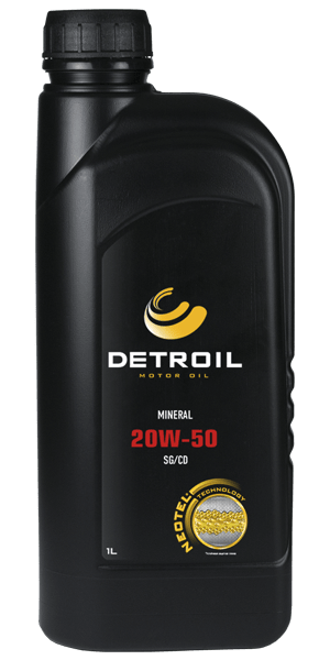 Масло DETROIL 20W-50 Mineral
