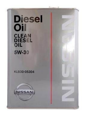Масло Nissan Clean Diesel Oil 5W30 DL-1