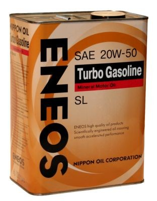 Масло Eneos Turbo Gasoline SL