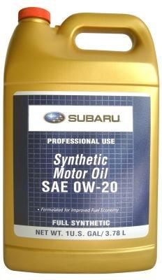 Масло Subaru Synthetic Oil 0W-20