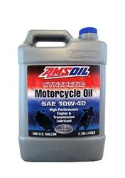 Мотоциклетное масло AMSOIL Synthetic Metric Motorcycle Oil SAE 10W-40 (3,78л)