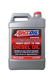 Моторное масло AMSOIL Heavy-Duty Synthetic Diesel Oil SAE 10W-30/ SAE 30 (3,78л)
