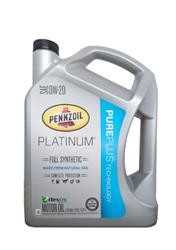 Моторное масло PENNZOIL Platinum Full Synthetic Motor Oil SAE 0W-20 (Pure Plus T