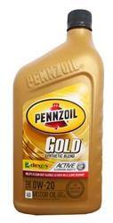Моторное масло PENNZOIL Gold Synthetic Blend SAE 0W-20 (dexos 1) (0,946л)