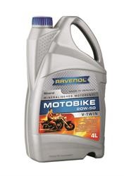 Моторное масло RAVENOL Motobike V-Twin SAE 20W-50 Mineral (4л) new